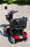 Skútr - vozík nejen pro invalidy